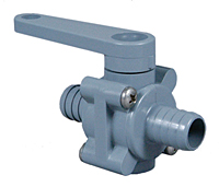 PVC 2 WAY BALL VALVE STYLE 250
