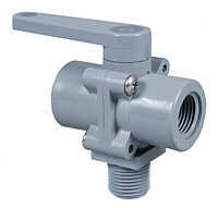 PVC 3 WAY BALL VALVE STYLE 350